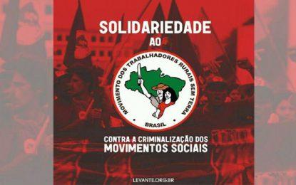 Brasil: Vía Campesina denuncia la creciente criminalización y persecución contra el campesinado