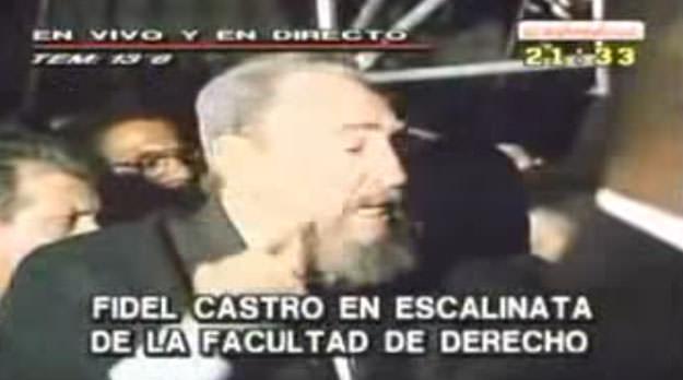 Discurso completo de Fidel Castro en la UBA (2003)