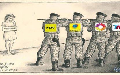Dictadura mediática, judicial e ideológica