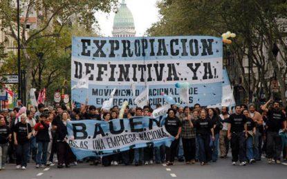 Ya es ley la expropiación del hotel Bauen para sus trabajadores