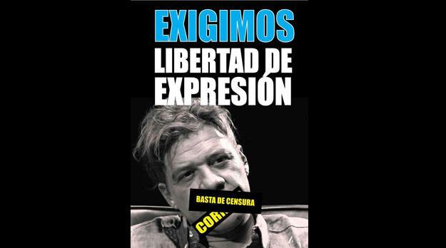 Continúa la censura a Marcelo Padilla