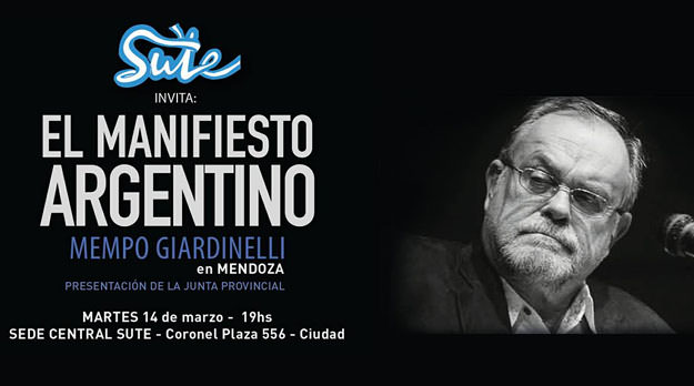 Mempo Giardinelli en Mendoza