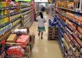 Volvió a caer el consumo en supermercados y shoppings