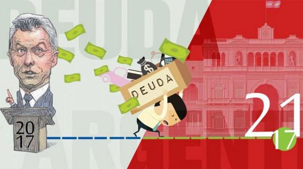 En enero, el Gobierno pagó intereses de la deuda a razón de $20 millones por hora