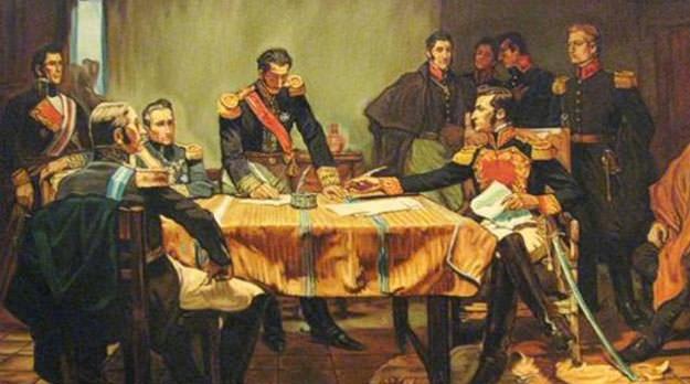 9 de julio de 1816: revolucionarios y castas de traidores