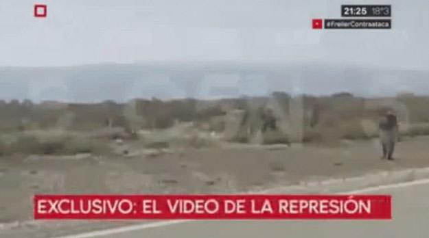 Así empezó la represión de Gendarmería contra los mapuches