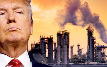 Donald Trump, promotor en jefe de las emisiones de CO2