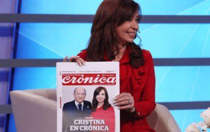 Entrevista completa de Cristina en Crónica