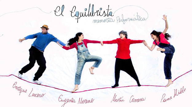 Memoria Performática sobre El Equilibrista, de Mariú Carrera