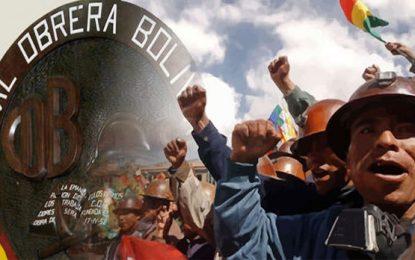Los desafíos de la clase obrera en Bolivia