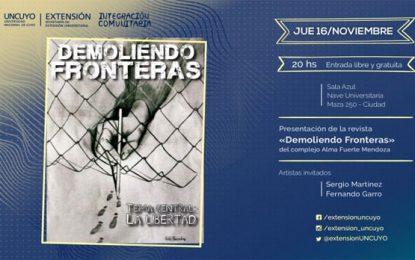 Presentación de la revista Demoliendo Fronteras