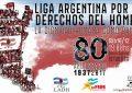 80 aniversario de la Liga Argentina por los Derechos del Hombre