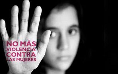 Violencia contra la mujer es terrorismo también