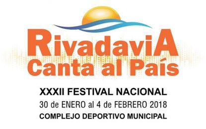 Rivadavia Canta al País: Grilla completa