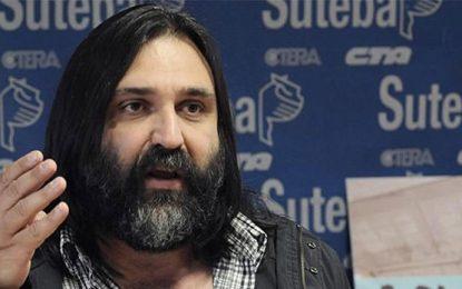 Organismos de DDHH repudiaron las nuevas amenazas a Roberto Baradel
