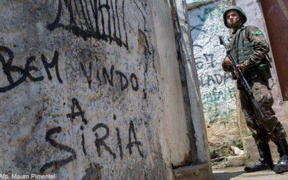 Estado de excepción en Río de Janeiro: ocupación militar y terror en las favelas