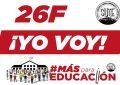26F- #MásParaEducación