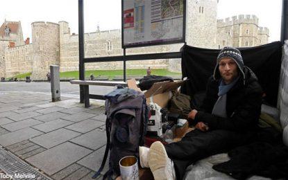 Los humanos sin hogar