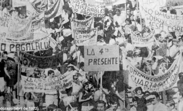 El Mendozazo terminó con un ciclo de dictaduras