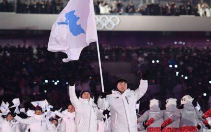 Olimpiadas en Corea del Sur unifican a dos estados rivales