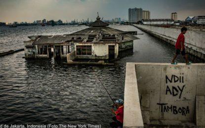 El mar empieza a tragar territorios por efecto del cambio climático