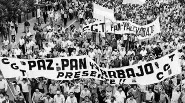 La dictadura genocida pretendió salvarse con las Malvinas