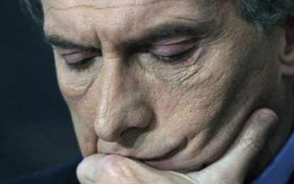 A Macri y a Cornejo no les alcanza con la cloaca neoliberal