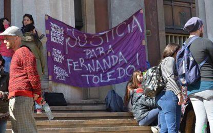En alerta ante la posible libertad para el femicida de Fernanda Toledo