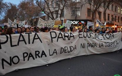 Multitudinaria marcha educativa en Mendoza