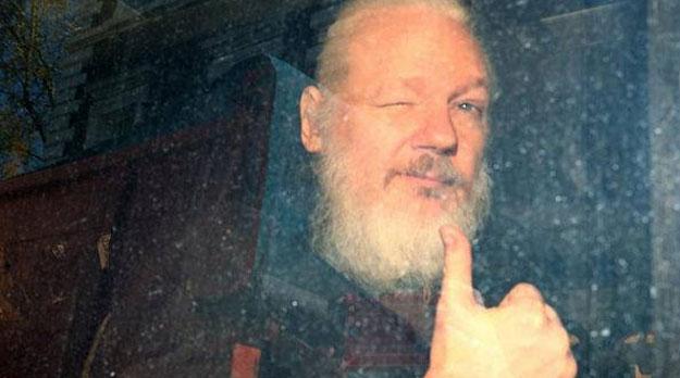 """Assange, preso en el """"Guantánamo"""" británico"""
