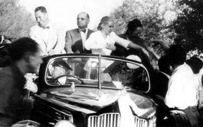 Recuerdo de Evita en Mendoza