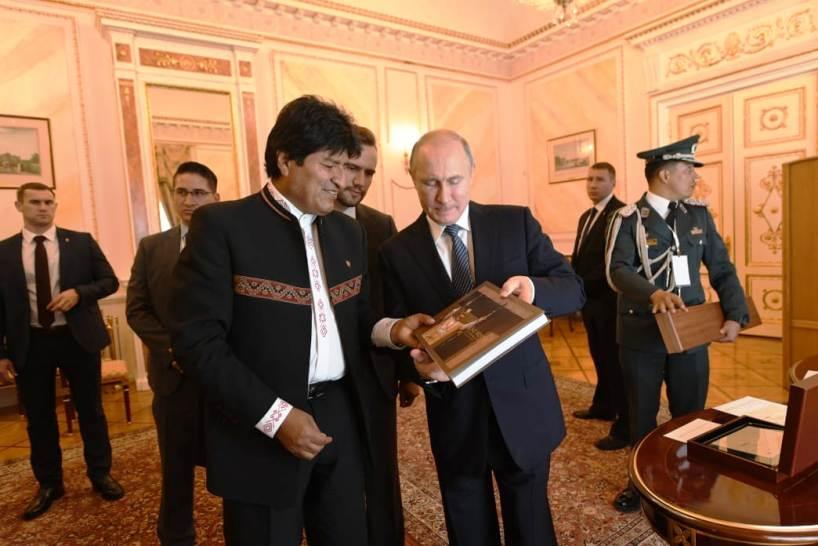 Desde Rusia con amor: Bolivia afianza acuerdos con la gran potencia mundial