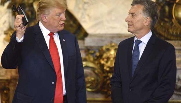 De cómo y por qué Trump financia la campaña de Macri