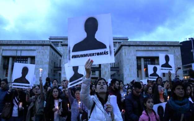 Marcha por líderes sociales colombianos fue un logro, pero resta camino por andar