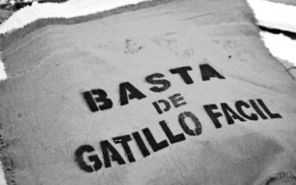 En Mendoza marchamos contra el gatillo fácil y la impunidad: Martes 27 de agosto a las 17 hs