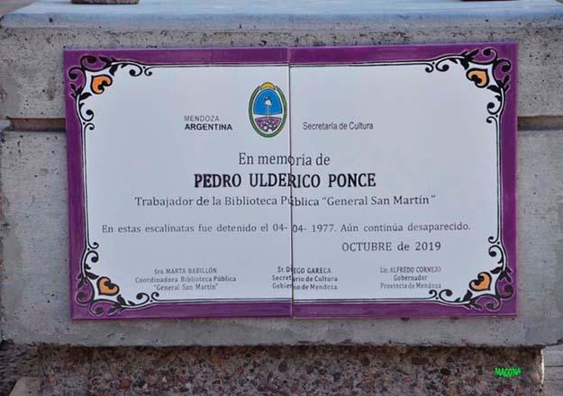 Memoria en la Biblioteca Pública General San Martín