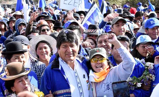 Bolivia amplía el horizonte democrático y la autodeterminación del pueblo