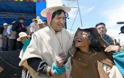La Bolivia profunda sostiene a Evo y al proceso de cambio