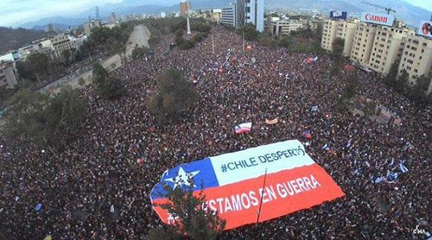 Chile: se abren de nuevo las grandes alamedas