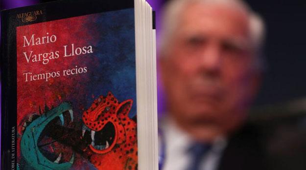 Vargas Llosa presenta Nuevo libro
