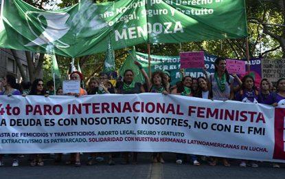 8M en Mendoza: Fotogalería