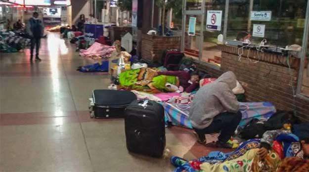 Abandono del estado a los trabajadores golondrinas varados en Mendoza