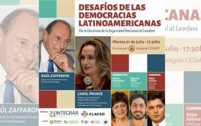 Desafíos de las democracias latinoamericanas. De la Doctrina de la Seguridad Nacional al Lawfare