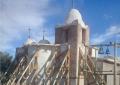 El temblor afectó la histórica Capilla de Lagunas del Rosario